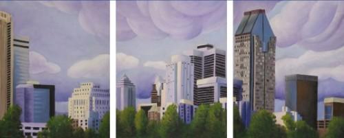 Fier de ma ville (Triptych)
