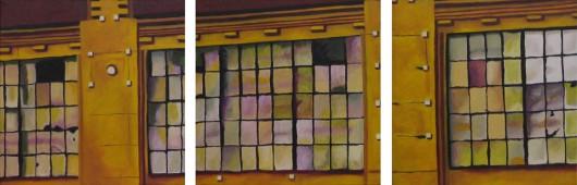 Old Windows (Triptych)
